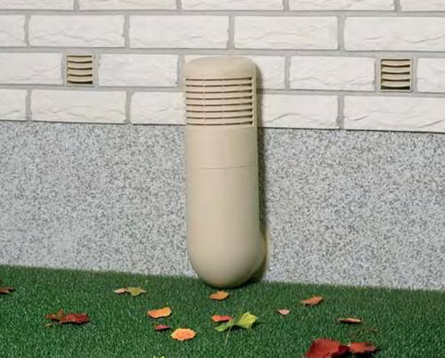 Дефлектор на подачу воздуха внутрь погреба