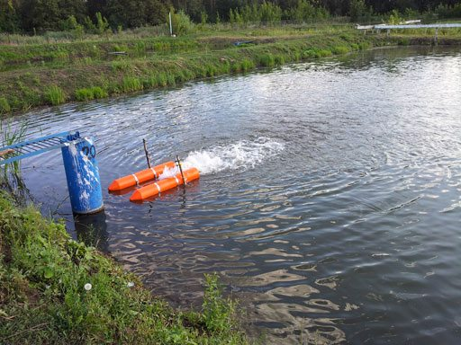 Дренажный агрегат способен качать воду даже из открытого водоема