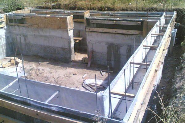 инструкция как заливать фундамент под строительство дома