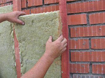 Фото монтажа базальтовой ваты