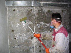 Грунтовка бетона изнутри
