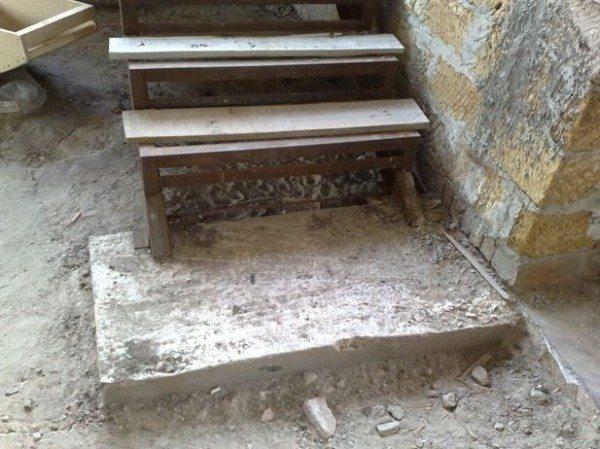 Как сделать лестницу в подвал– устройство фундамента