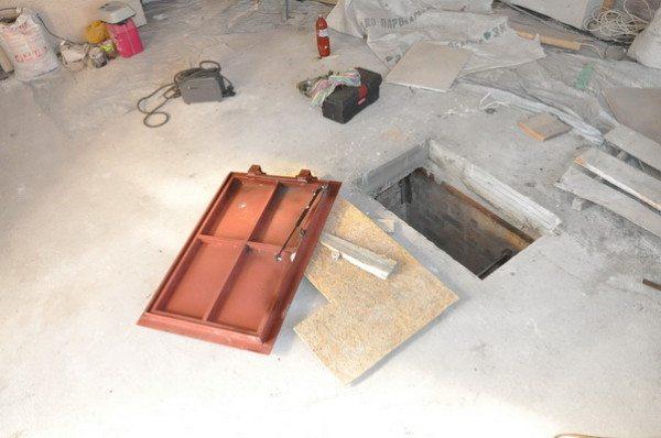 Как сделать крышку погреба