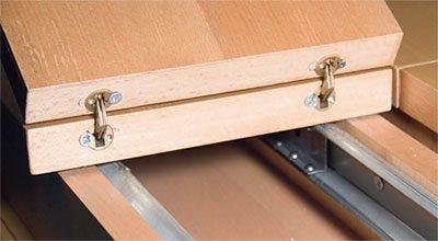Мебельные петли для люка в погреб