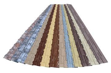 Монтаж цокольных панелей под камень на каркасный дом