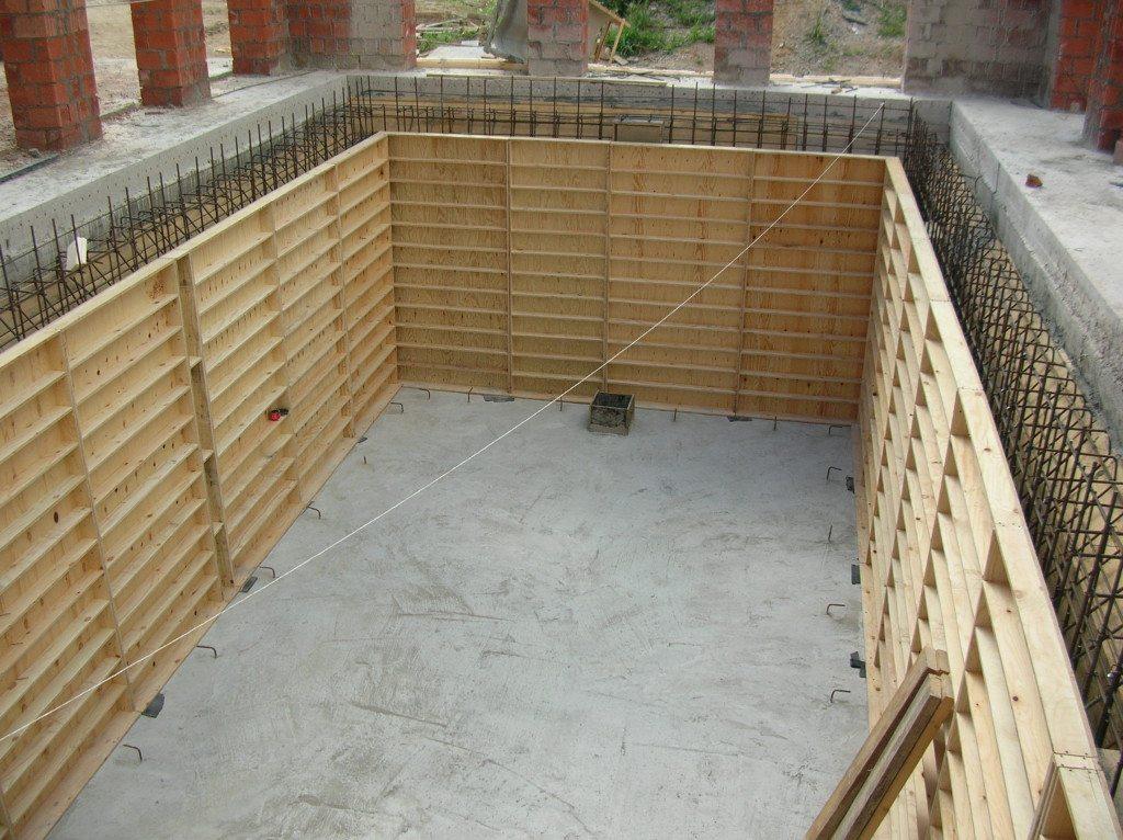 Дом с погребом технология строительства
