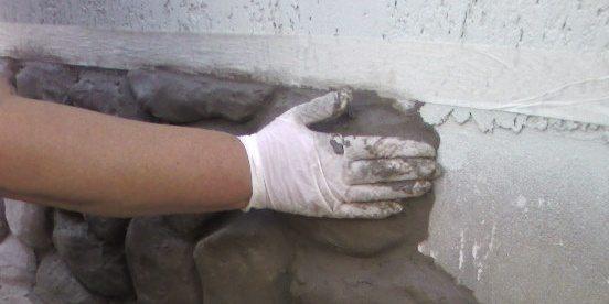 Отделка цоколя под камень своими руками