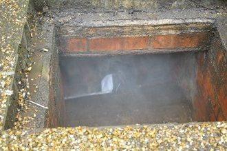 При плохом уплотнении дым будет выходить наружу, представляя опасность окружающим