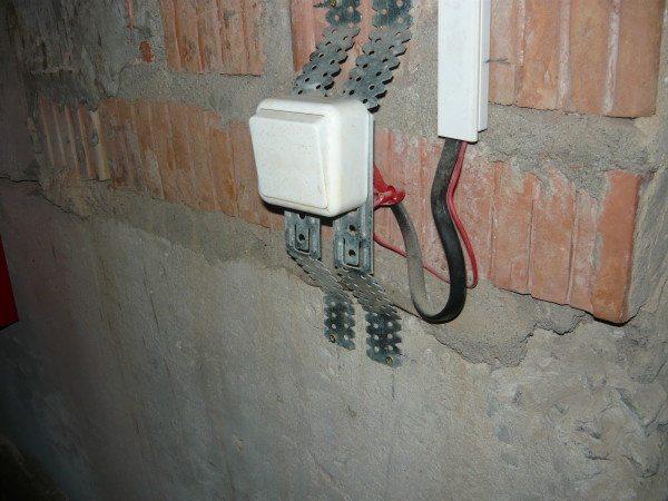 Пример установки выключателей