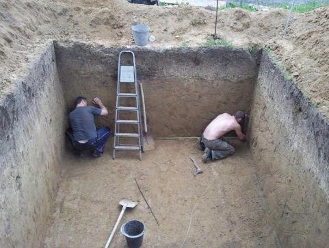 Работы с землёй
