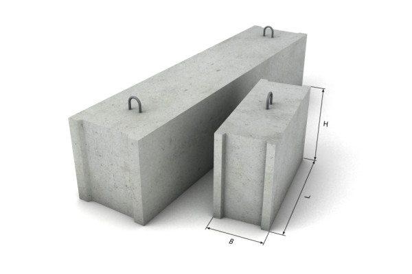 Бетонные ФБС блоки