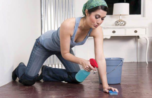 Чистота в жилище – одна из профилактических мер.