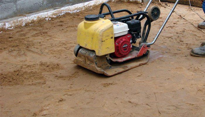 трамбовка для песка