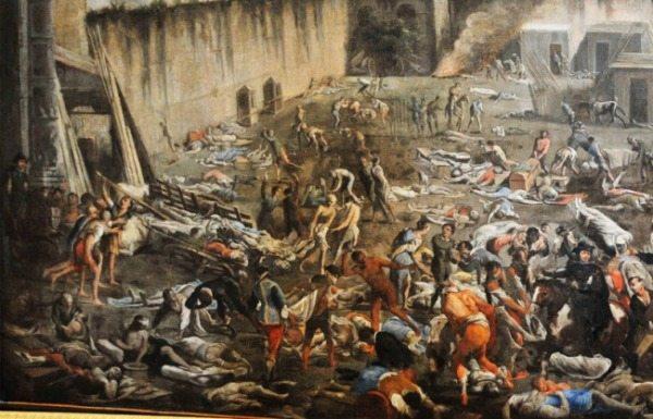 Эпидемия чумы в Неаполе, 1656 год.