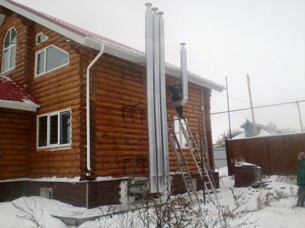 Естественная вентиляция подвала в деревянном доме