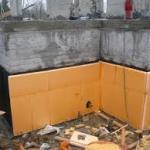 Гидроизоляция и утепление цокольного этажа