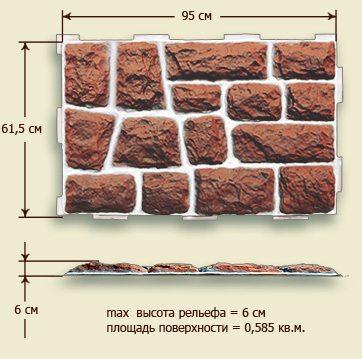 Крупногабаритный модуль с глубоким рельефом и большой толщиной