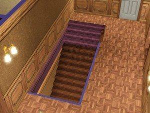 На фото лестница в подвальное помещение.