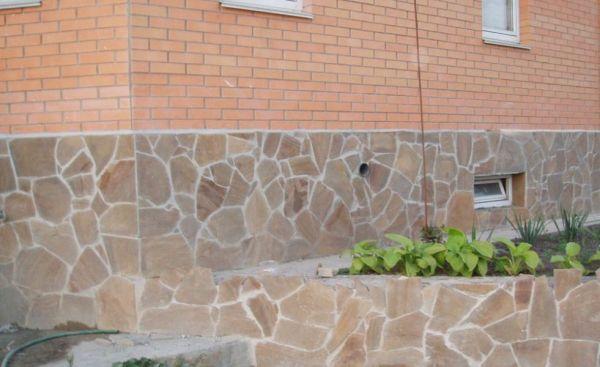 Натуральный камень неправильной формы