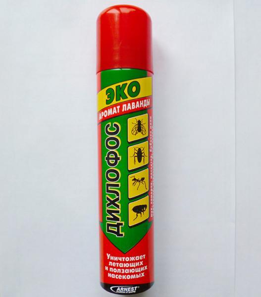 Нынешний дихлофос уже не обладает удушливым запахом керосина.