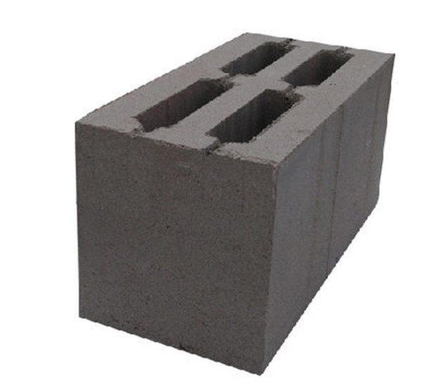 Образец блока из бетона