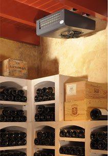 Образец кондиционера, используемого для хранения вин