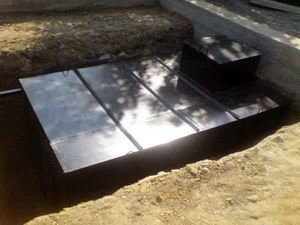 Погреб из металла для приусадебного участка