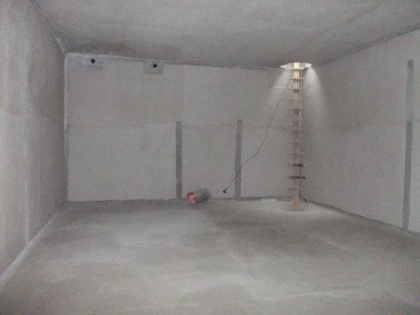 Полностью гидроизолированный подвал