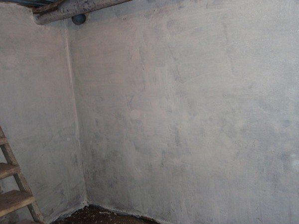 После высыхания стены погреба будут смотреться очень аккуратно