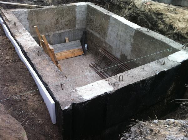 Постройка подвала до строительства гаража