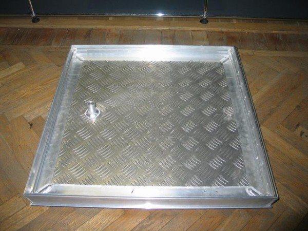 Пример открытой конструкции из алюминия