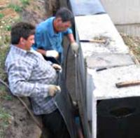 Расстояние от стен котлована до фундамента должно быть таким, чтобы в нем можно было удобно работать