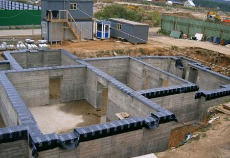Строительство подвального этажа