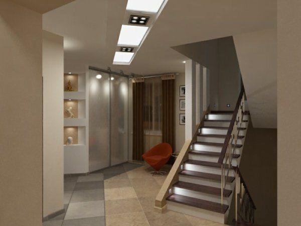 Цокольный этаж: вид изнутри.
