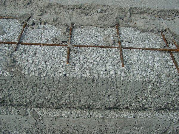 Устройство утепленного бетонного пола.