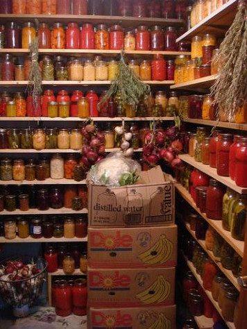 Защищённое помещение для хранения продуктов